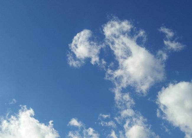 Imatge del cel d'ahir