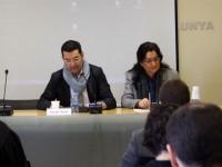 Carme García, alcaldessa de Rubí, durant la jornada // Imatge cedida per l'Ajuntament de Rubí