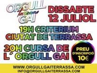 S'obren les inscripcions per participar a la Cursa de l'Orgull Gai Terrassa