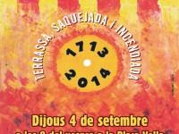 Cartell de la Marxa de Torxes // Imatge de la web de la Comissió pel 4 de setembre