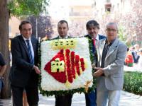 Celebració Diada 2014 // Imatge d'arxiu cedida per l'Ajuntament de Terrassa