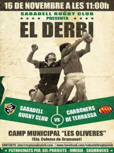 El Sabadell RC i els Carboners de Terrassa s'enfronten per primer cop a la història // Imatge cedida pel Sabadell RC