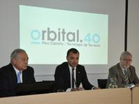 L'alcalde de Terrassa, Jordi Ballart, en una de les sessions de l'Orbital B40 // Imatge del web de l'Orbital B40