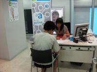 Fins el 31 de desembre del 2015, el Govern de la Generalitat aposta per mantenir el reforç dels serveis d'orientació de la xara d'oficines de treball // Imatge del web de la Generalitat de Catalunya