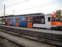Tren de Rodalies // Imatge cedida per la Generalitat