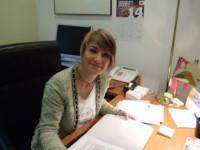 Lourdes Ciuró al seu despatx del Congrés dels Diputats // Imatge cedida per CiU