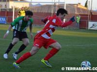 El Terrassa vol capgirar la mala dinàmica contra el rival comarcal // Imatge d'arxiu cedida pel Terrassa FC
