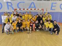 Els jguadors de l'Atlètic Terrassa celebren la victòria als Campionats de Catalunya, en una fotografia corresponent als de l'any passat // Imatge cedida per l'Atlètic Terrassa