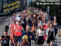cartell de la mitja marató de Terrassa // Imatge del web mitjaterrassa.org