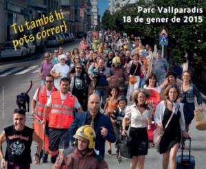 cartell de la mitja marató de Terrassa
