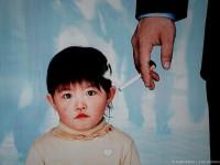 Tabaquisme passiu en els infants // Imatge extreta del web Bebesymas.com