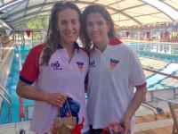 Laura Roca i Laura Fernández // Imatge cedida pel CN Terrassa
