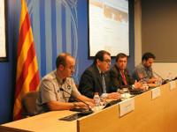 Reunió tècnica de seguiment del Pla de Protecció Civil de Catalunya PROCICAT // Imatge cedida per Gencat