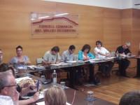 El PSC, ERC, CiU i Entesa governaran conjuntament al Consell Comarcal del Vallès Occidental // Foto: Joan Murcia