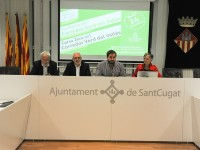 Presentació de la Marxa Corredor Verd del Vallès // Imatge cedida per l'Ajuntament de Sant Cugat (Foto: Localpress)