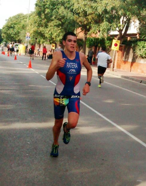 Danel Ratera a la triatló de Gavà // Imatge cedida pel CN Terrassa