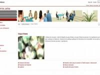 Grup d'interès // Imatge del web del Departament de Justícia