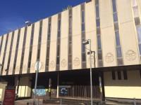 El Grup Bon Preu obrirà un supermercat a l'antic edifici de les oficines centrals de Caixa Terrassa // Foto: Sergi Colomer