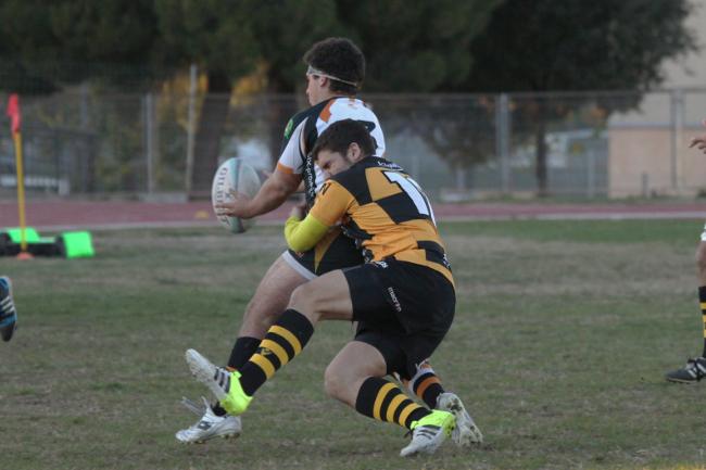 Els Carboners s'imposen en el derbi vallesà // Imatge cedida pel Sabadell RC (Foto: Eli Calbet)