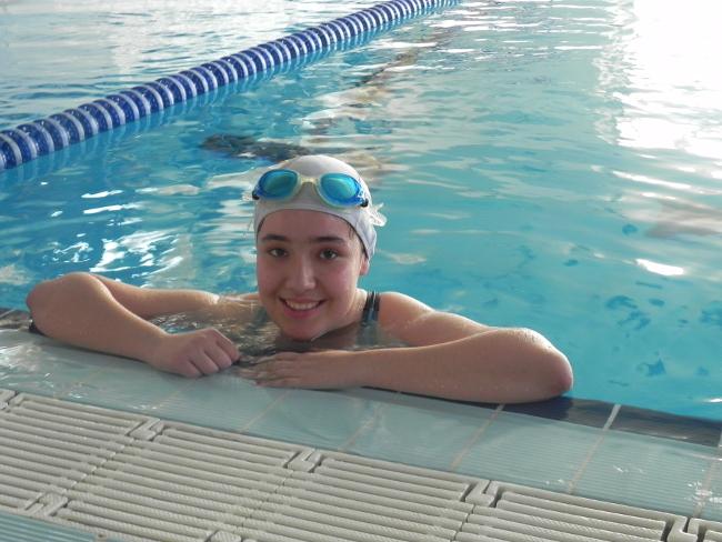 ornades escolars de natació // Imatge cedida per la Federació ACELL- Special Olympics Catalunya