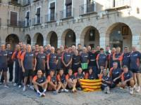 Homenatge i reconeixement a la Selecció Catalana de Tennis Taula pel seu paper al Campionat d'Espanya de seleccions autonòmiques // Imatge cedida pels Falcons Sabadell