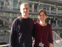 Andreas Meyerhans i Cristina Peligero // Imatge UPF