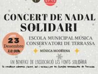 Concert de Nadal Solidari dels alumnes de l'Escola Municipal de Música