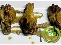 Alitas especiadas de pollo // Imatge DL cocina y gastronomia