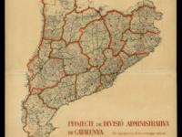Mapa // Imatge cedida per la Diputació