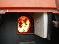Caldera de biomassa // Imatge del web de CCVOC