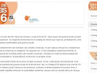 Catàleg de Serveis 2016 // Imatge del web