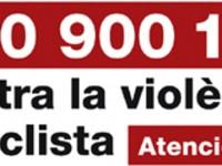 telefon violencia masclista// cartell ICD