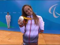 Sarai Gascón plata en 200 m estils