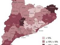 La població de nacionalitat estrangera disminueix un 0,5% a Catalunya