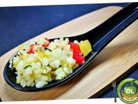 Cullereta de bulgur i verdures amb menta