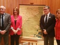L'ICGC publica el facsímil Mapa de les terres de llengua catalana