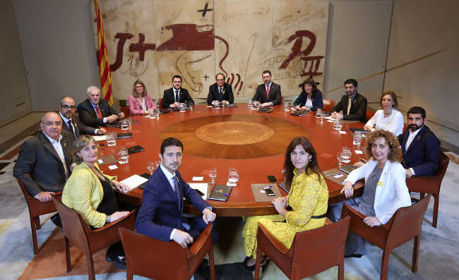 Govern MHP Quim Torra// Foto: Conselleria Presidencia