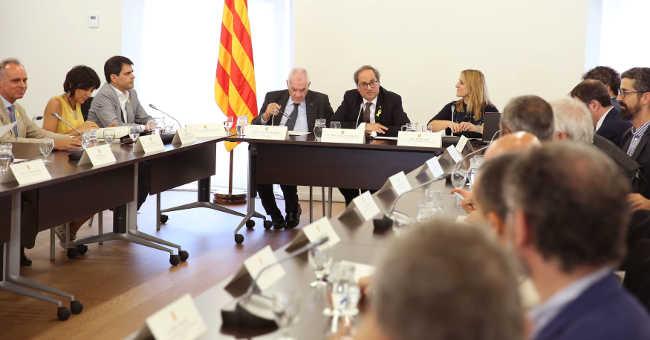 Diplocat Quim Torra Ernest Maragall//Foto: Conselleria Presidència