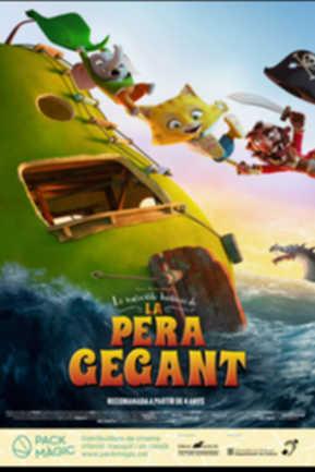 La Pera Gegant cinema en català 2018.11.23// cartell