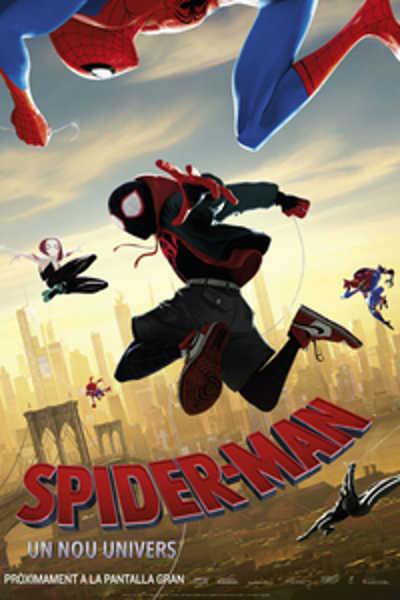 Spider-Man cinema català 2018.12.21// cartell