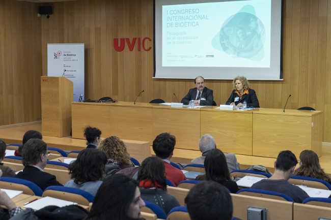 Congrès internacional Bioètica// Foto: uvic