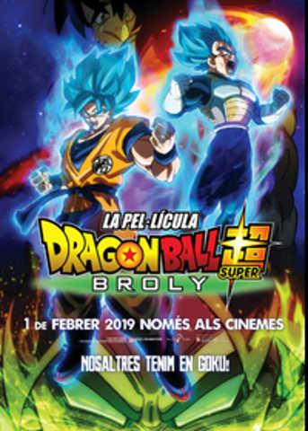 Dragon Ball cinema català 2019.02.01// cartell