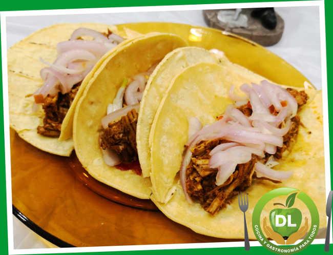 Tacos cochinita pibil// Foto: dlcocinaygastronomia.com